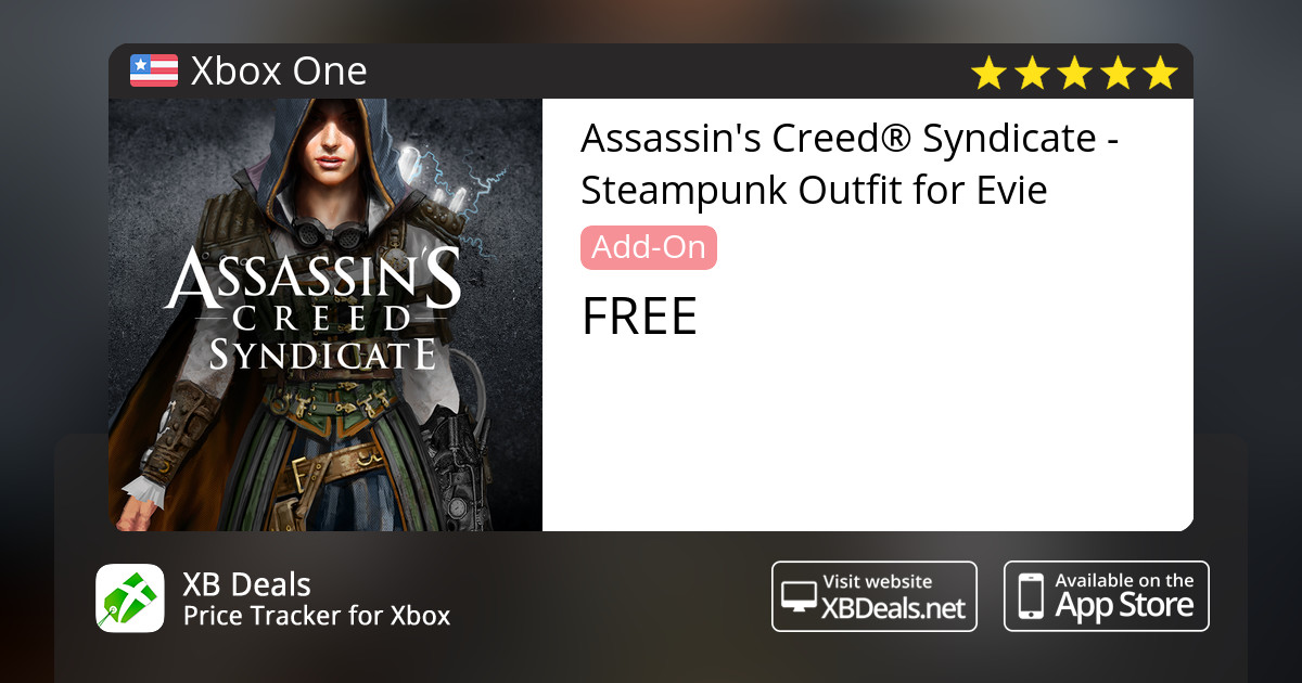 Assassins Creed Syndicate Steampunk Outfit For Evie Xbox One