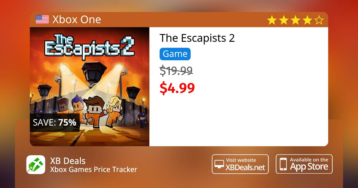 The Escapists 2 Xbox One Buy Online And Track Price Xb