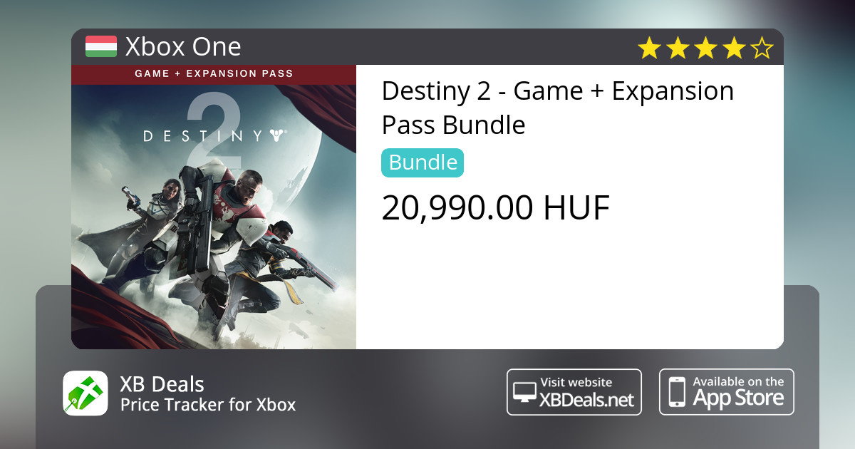 814c847cca7 Destiny 2 - Game + Expansion Pass Bundle Xbox One — buy online and track  price - XB Deals Hungary