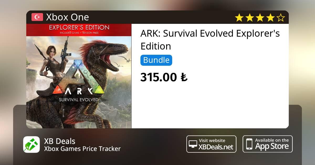 29% Discount On ARK: Survival Evolved Exploreru0027s Edition Xbox One U2014 Buy  Online   XB Deals Turkey