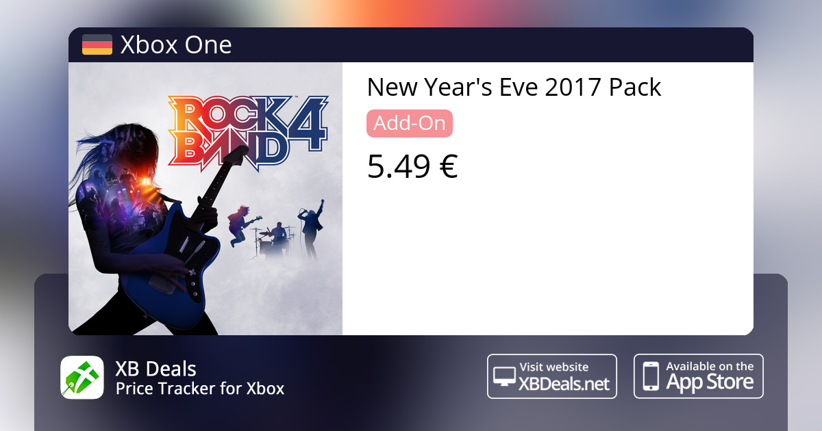 New Year's Eve 2017 Pack Xbox One — buy online and track price - XB Deals  Germany