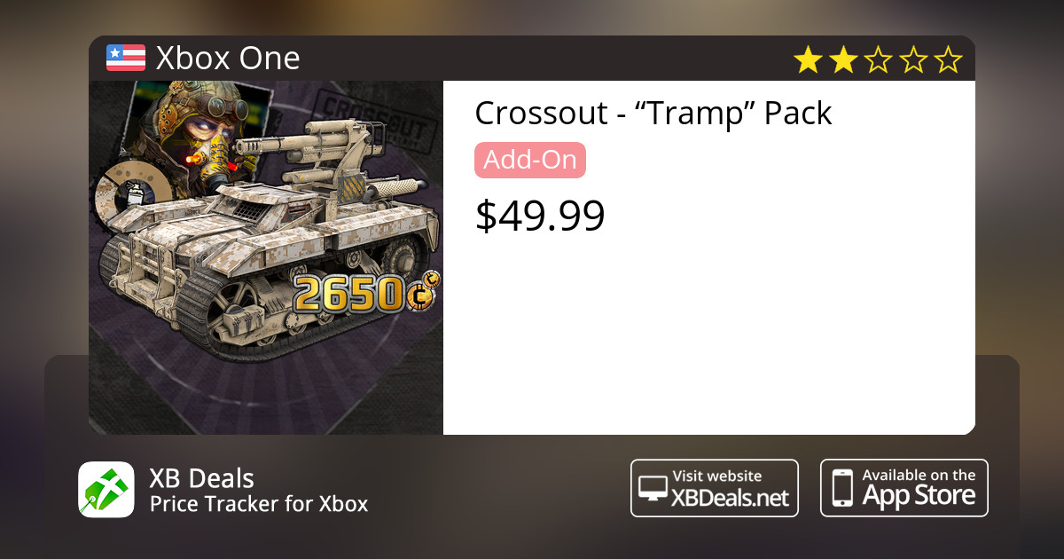 """Crossout - """"Tramp"""" Pack Xbox One — buy online and track price - XB Deals  United States"""