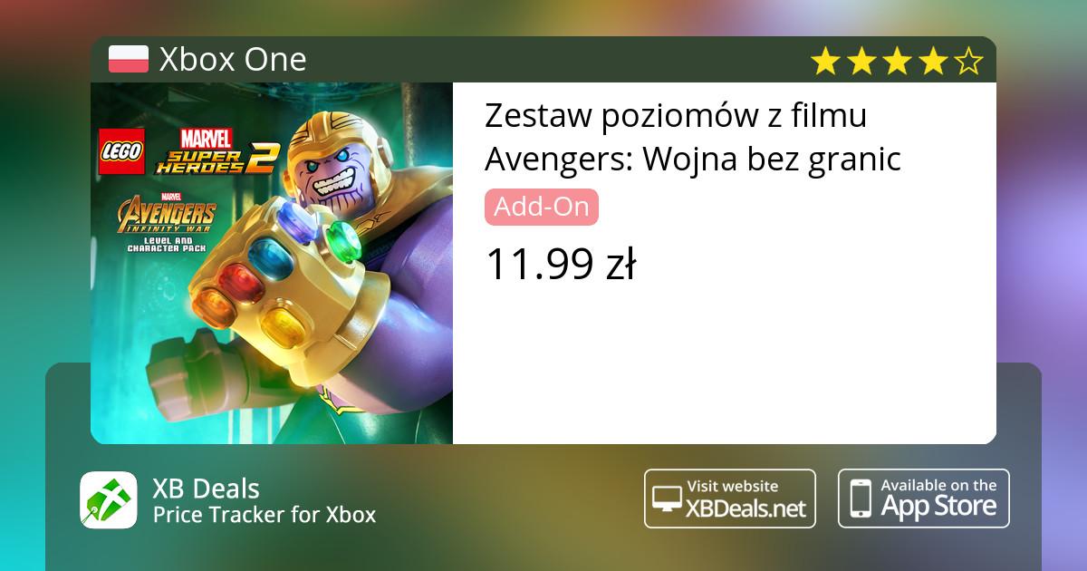 Zestaw Poziomów Z Filmu Avengers Wojna Bez Granic Xbox One Buy