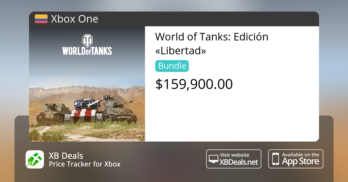 World of Tanks: Edición «Libertad» Xbox One — buy online and track price -  XB Deals Colombia