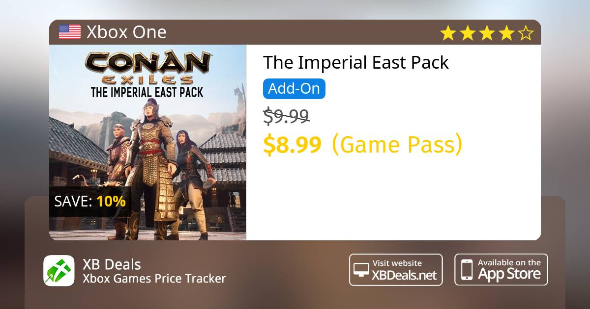 The Imperial East Pack Xbox One — buy online and track price - XB Deals  United States