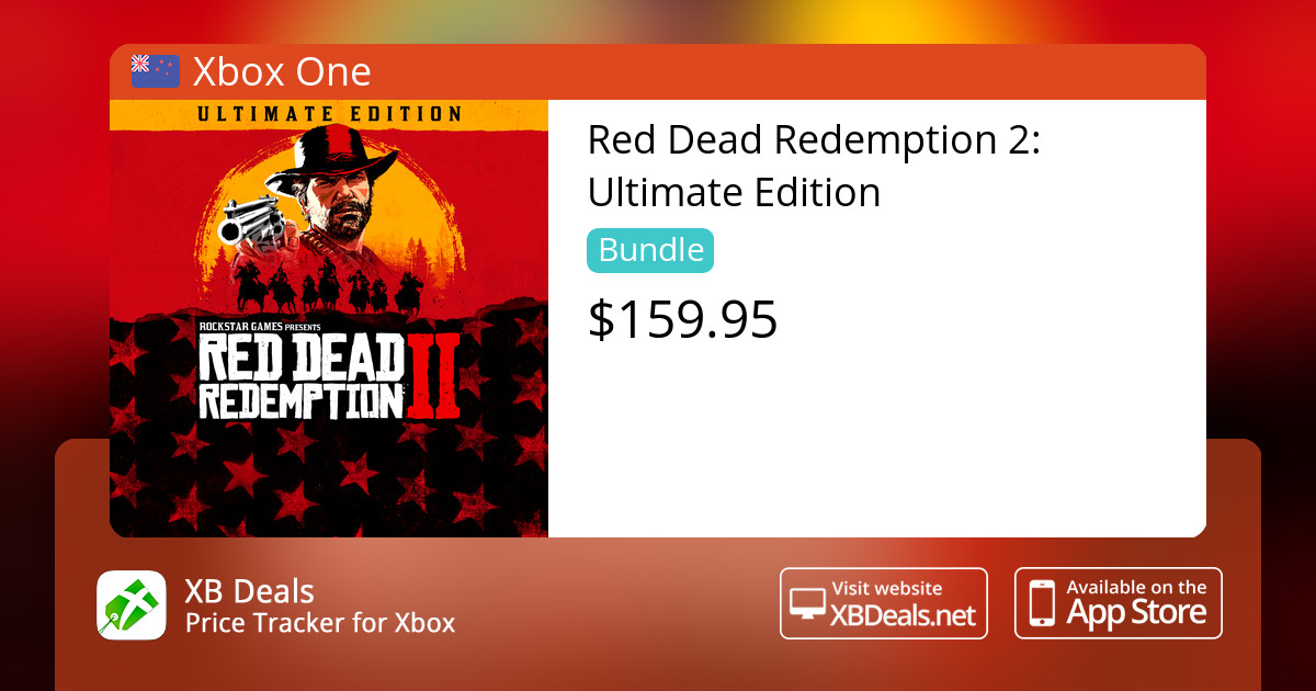 Red Dead Redemption 2: Ultimate Edition Xbox One — buy online and track  price - XB Deals New Zealand
