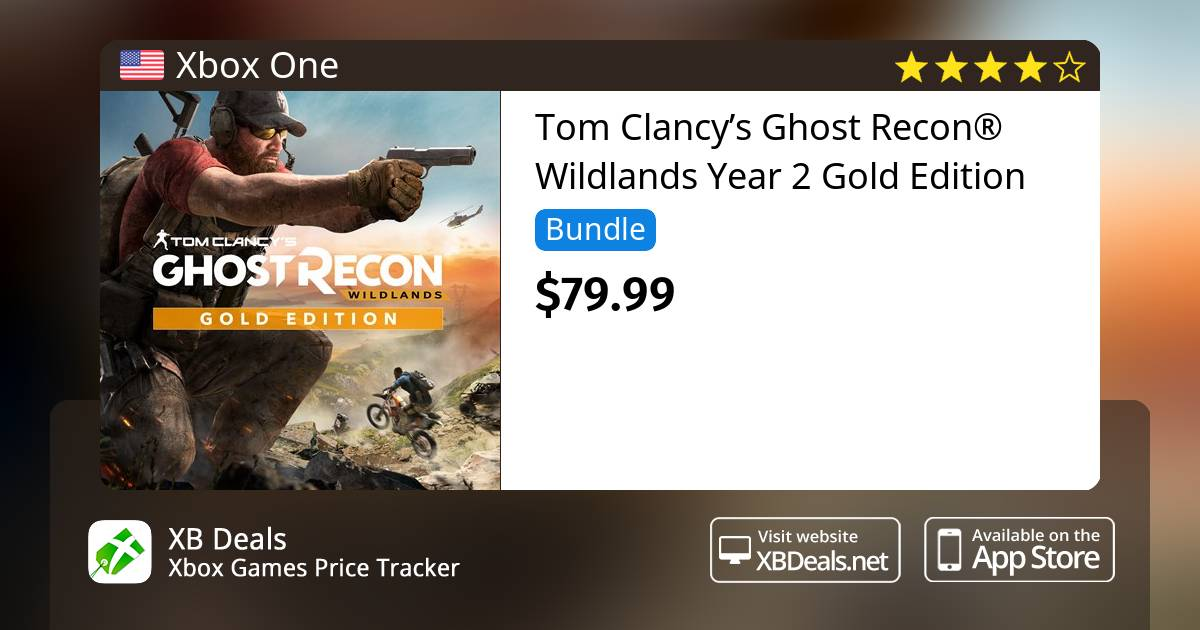 Tom Clancys Ghost Recon Wildlands Year 2 Gold Edition Xbox One Buy Online And Track Price Xb Deals United States