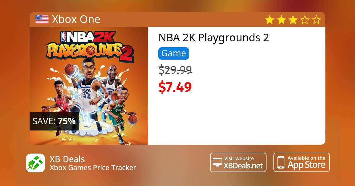NBA 2K Playgrounds 2 Xbox One — buy online and track price - XB Deals  United States