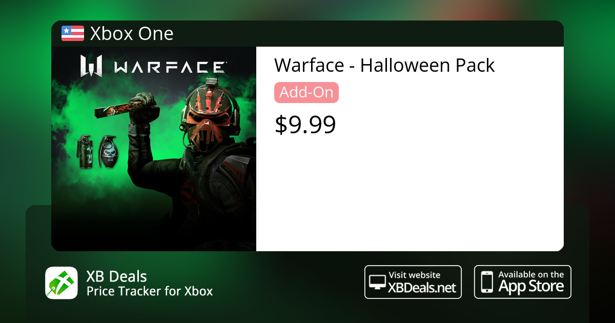 Warface - Halloween Pack Xbox One — buy online and track price - XB Deals  United States