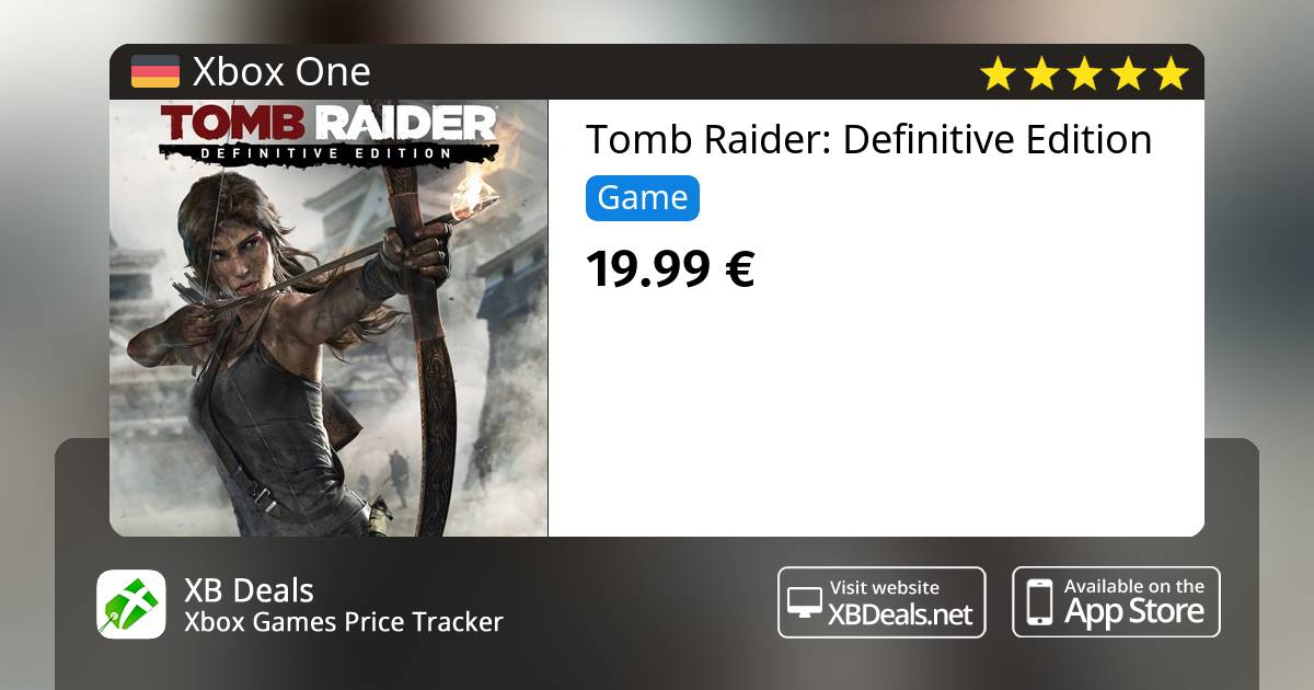Tomb Raider Definitive Edition Xbox One Buy Online And Track