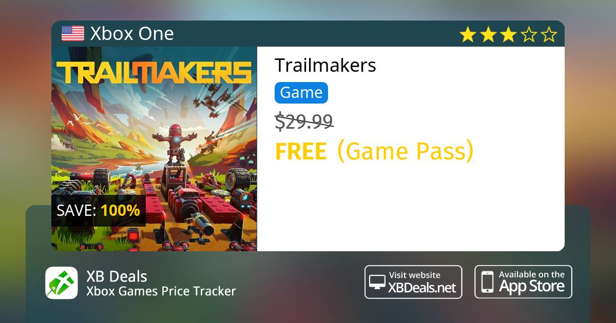 Trailmakers (Game Preview) Xbox One — buy online and track price - XB Deals  United States