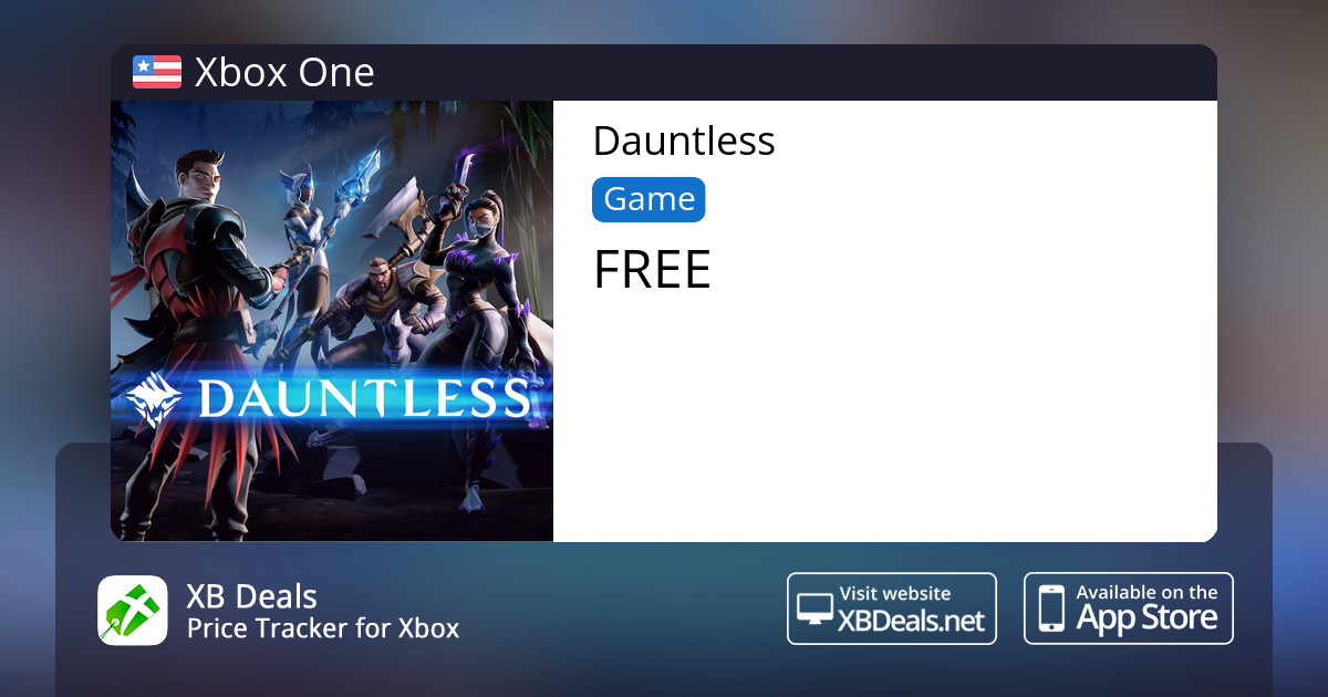 Dauntless Xbox One — buy online and track price - XB Deals