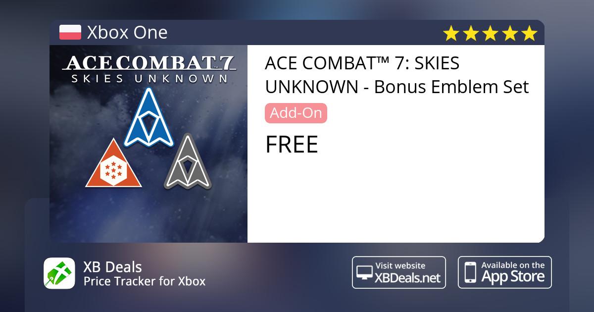 ACE COMBAT™ 7: SKIES UNKNOWN - Bonus Emblem Set Xbox One