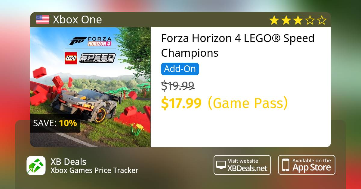 10% discount on Forza Horizon 4 LEGO® Speed Champions Xbox One — buy online  - XB Deals United States