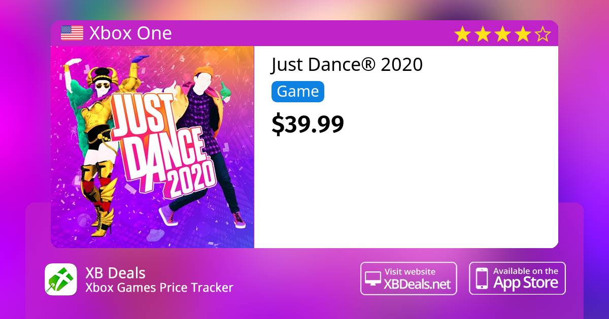 Just Dance 2020 Xbox One — buy online and track price - XB Deals United  States