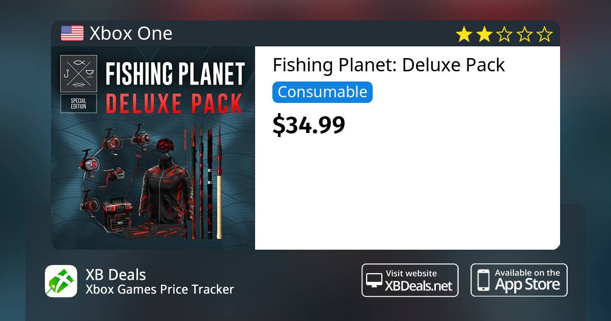 Fishing Planet: Deluxe Pack Xbox One — buy online and track price - XB  Deals United States