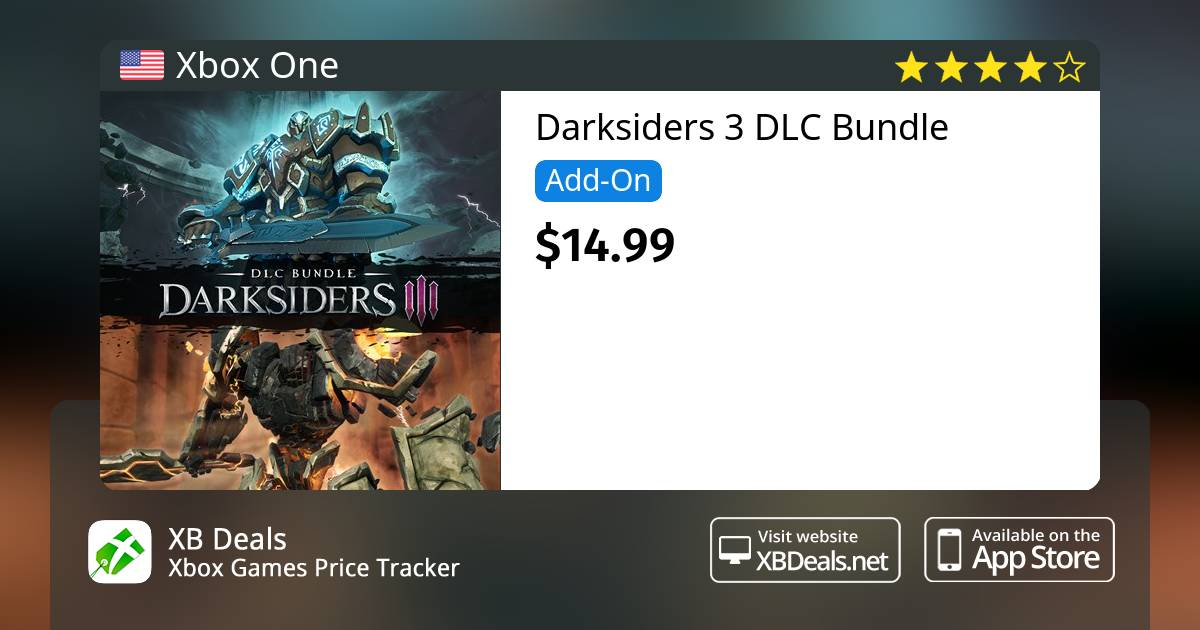 Darksiders 3 DLC Bundle Xbox One — buy online and track price - XB Deals  United States