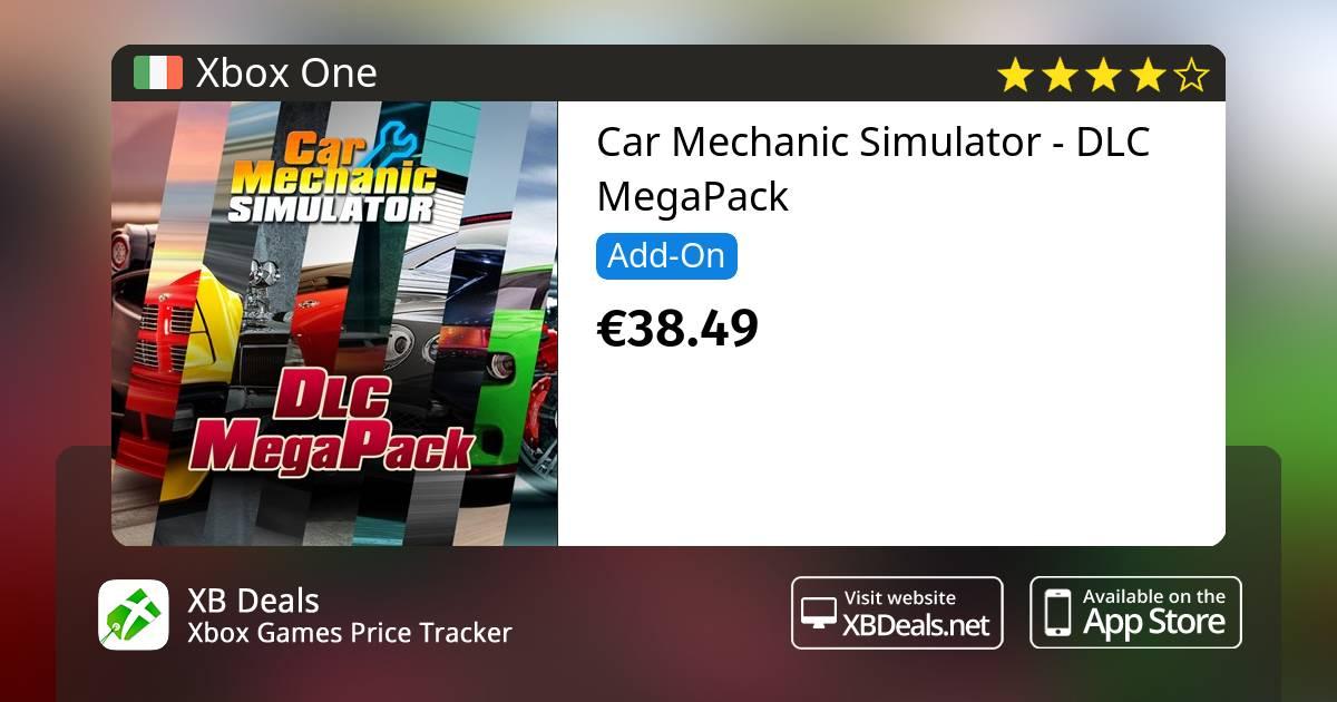 Car Mechanic Simulator - DLC MegaPack Xbox One — buy online and track price  - XB Deals Ireland