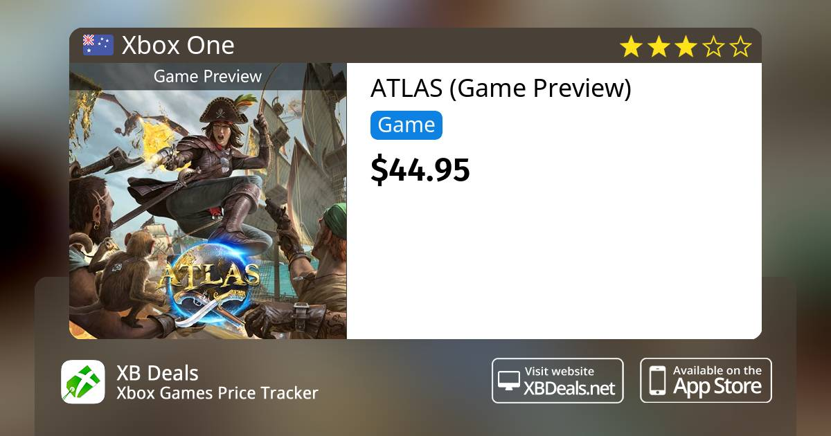 Atlas Game Preview Xbox One Buy Online And Track Price Xb Deals Australia