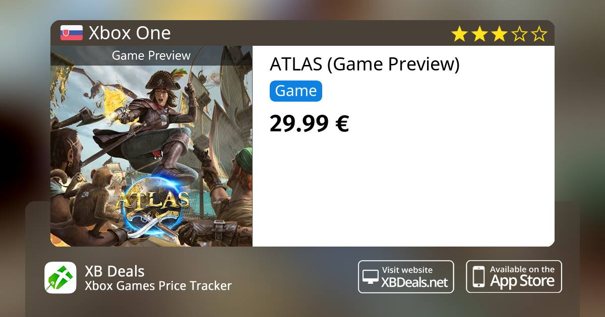 Atlas Game Preview Xbox One Buy Online And Track Price Xb Deals Slovakia