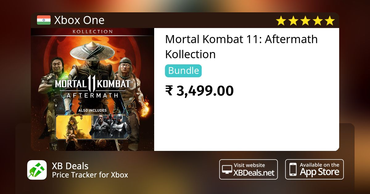 Mortal Kombat 11 Aftermath Kollection Xbox One Buy Online And