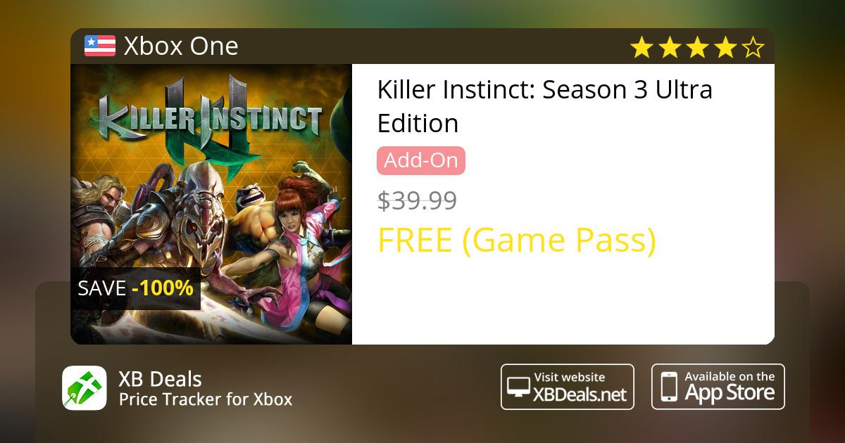 killer instinct ultra edition xbox one